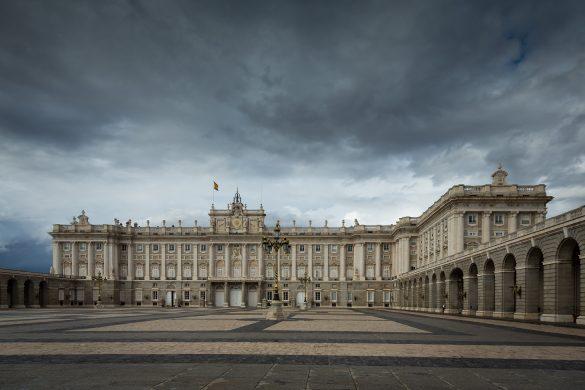 Reiseguide til storbyferie i Madrid, Palacio Real, det kongelige slott
