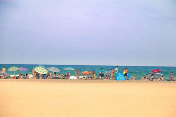 Reiseguide til sydenferie, Valencia, Strand