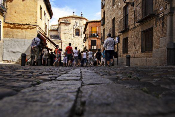 Reiseguide til historisk ferie, Toledo, Gater