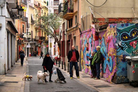 Reiseguide til sydenferie, Valencia, Barrio del carmen