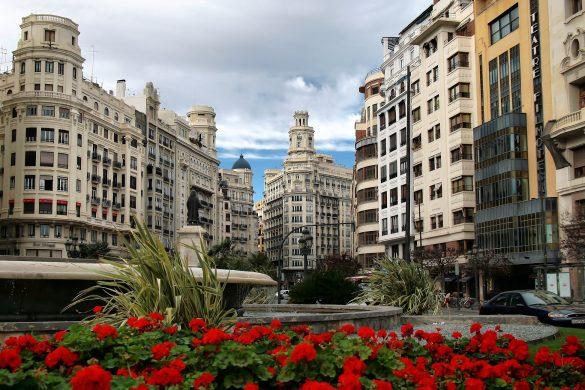 Reiseguide til sydenferie, Valencia, Rådhusplassen