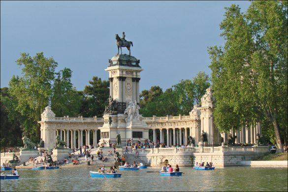 Reiseguide til storbyferie i Madrid, Retiroparken