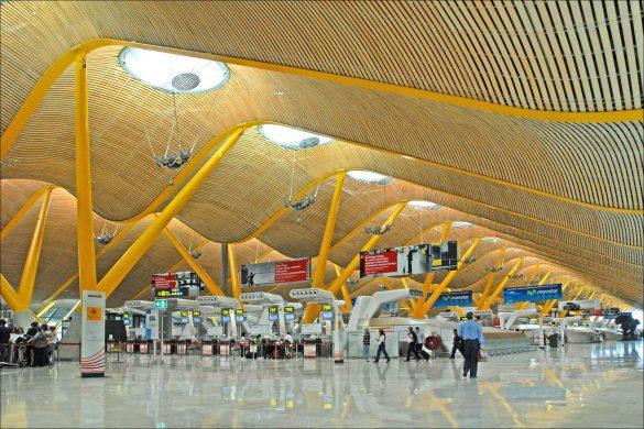 Reiseguide til storbyferie i Madrid, Barajas Flyplass