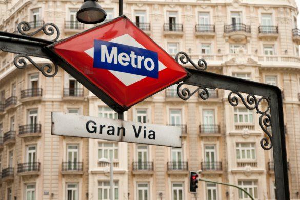 Reiseguide til storbyferie i Madrid, Gran Via, Metro