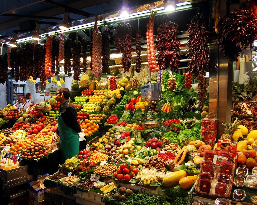 vegetables in spain