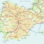 kart over toglinjer