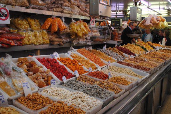 Reiseguide til sydenferie, Valencia, Mercado Central